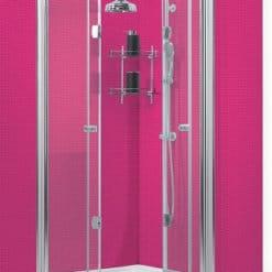 מקלחון פינתי הרמוניקה מקלחון מתקפל מלודי