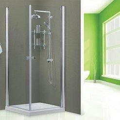 מקלחון פינתי INOUT שתי דלתות ניו יורק (1)