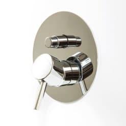 אינטרפוץ 4 דרך עגול 771109. תמונת קטגוריה אינטרפוץ במנגנון מלא, פנים וחוץ, לאמבטיה ומקלחת. מבחר רחב של אינטרפוץ 3 דרך ו4 דרך