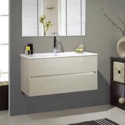 ארון אמבטיה תלוי צר הוגו, .