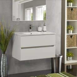 ארון אמבטיה תלוי עומק צר הוגו 82