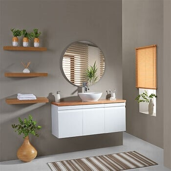 ארון אמבטיה תלוי עומק צר 39 סטפן בוצ'ר עליון