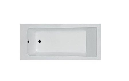 אמבטיה אקרילית קיוביק MTI מבט עליון רוחב 70