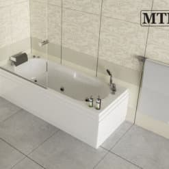 אמבטיה מלבנית אקרילית MTI-07 רוחב 70 אורך 170