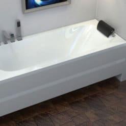 אמבטיה מלבנית אקרילית MTI-117 רוחב 70 ואורך 170