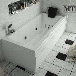 אמבטיה מלבנית אקרילית MTI-62 רוחב 70 אורך 170