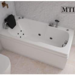 אמבטיה מלבנית אקרילית MTI-81 ברוחב 70 ואורך 140