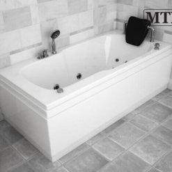 אמבטיה מלבנית אקרילית MTI-83 רוחב 70 אורך 170