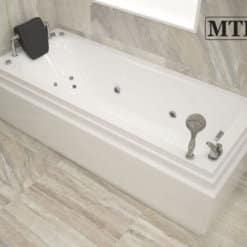 אמבטיה מלבנית אקרילית MTI-93 רוחב 70 אורך 170
