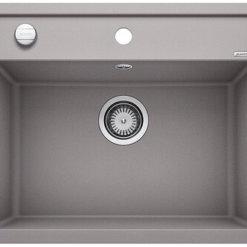 כיור למטבח בלנקו גרניט דלאגו 6 בלאנקו צבע אלומטליק