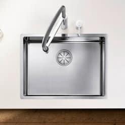 כיור מטבח נירוסטה דגם קלארון 550 IF