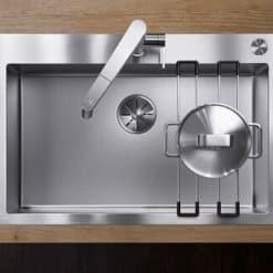 כיור מטבח בלנקו נירוסטה דגם CLARON 700 IFA
