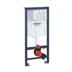 מיכל הדחה סמוי חברת גרואה 38536001 GROHE לקיר גבס ניאגרה סמויה גרואה לקיר גבס