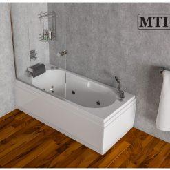 MTI-04 אמבטיה מלבנית אקרילית רוחב 70 ואורך 150