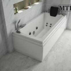 MTI-60 אמבטיה מלבנית אקרילית רוחב 70 ואורך 150