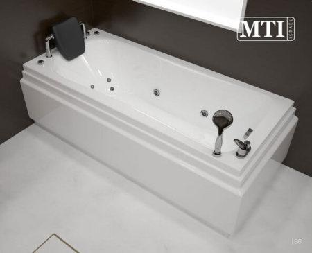 MTI-92 אמבטיה מלבנית אקרילית רוחב 70 אורך 160