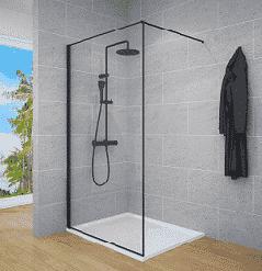 מקלחונים ואמבטיון פרופיל שחור