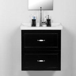 ארון אמבטיה תלוי 60 פלרמו שחור