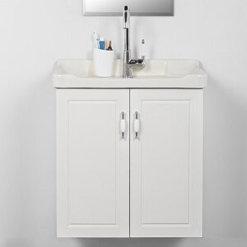 לבן ארון אמבטיה 60 תלוי רנסנס SO